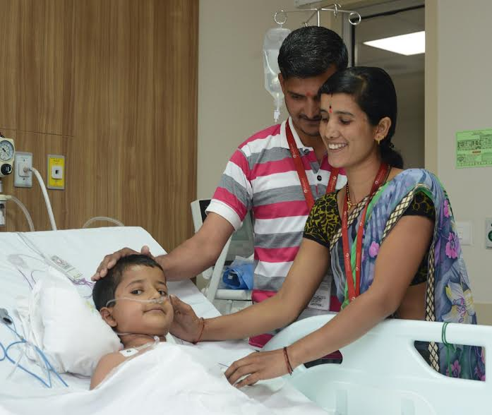 Heart at right side, 6-year-old boy survives complex surgery