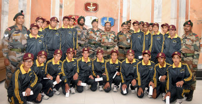 indian army and national integration A national integration tour was organised by # indianarmy for 25 children of jammu and kashmir to patiala military station on 27 august 2016 children witnessed display of tanks, small arms and air-rifle shooting in the station.