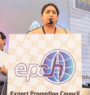 Union Textiles Minister Inaugurates Ihgf Delhi Fair Autumn 2017