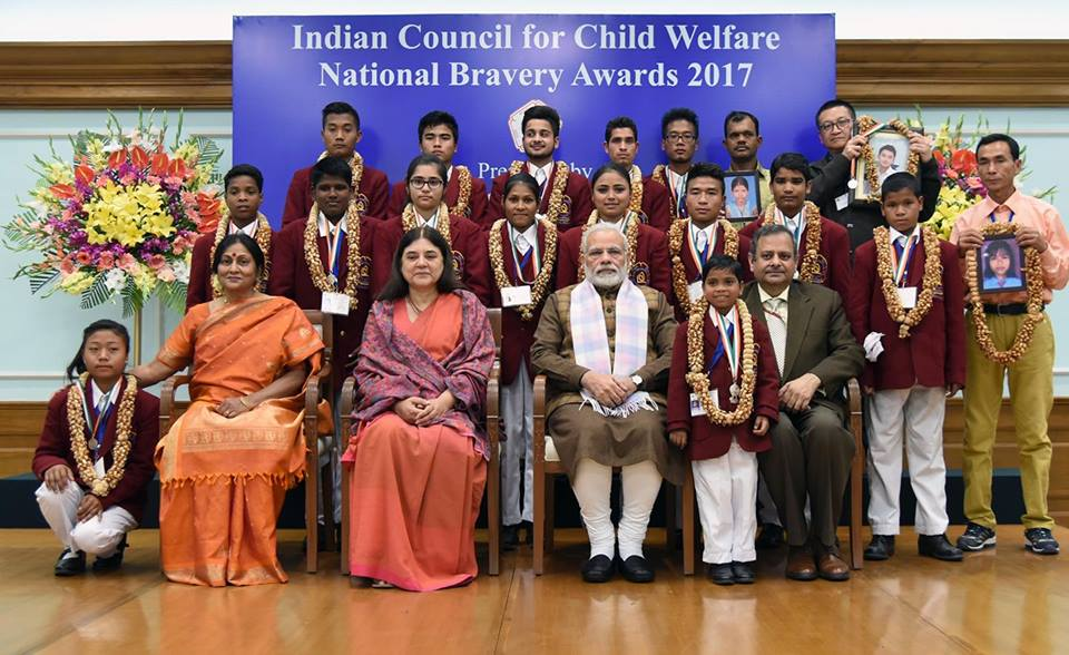 Two Odisha children get National Bravery Award