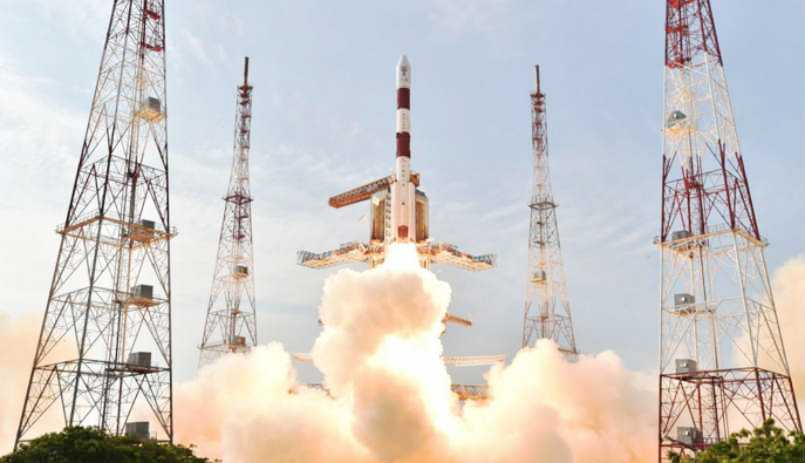 ISRO successfully launches 100th satellite on board PSLV-C40