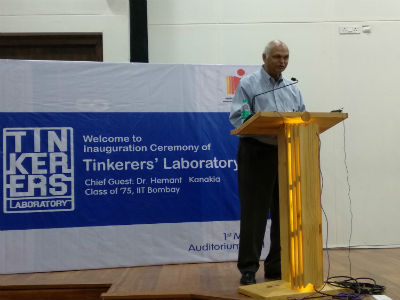 Iit hyderabad launches tinkerers lab for students to develop do hyderabad indian institute of technology hyderabad launched a tinkerers laboratory tl for students to develop do it yourselfdiy projects driven by solutioingenieria Images