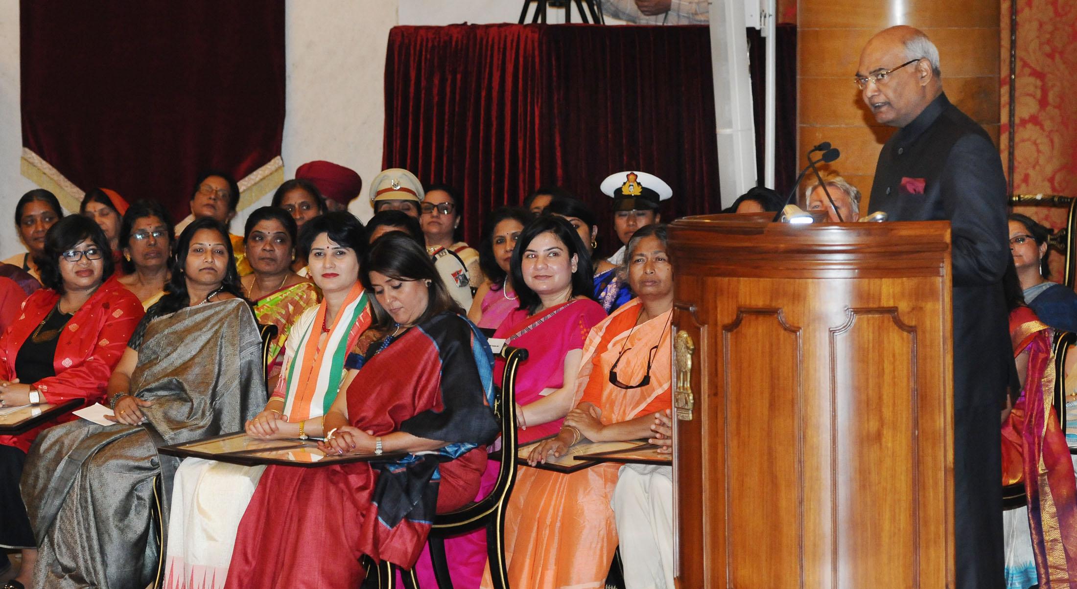 Odisha's Sabarmatee Tiki receives 'Nari Shakti Award'