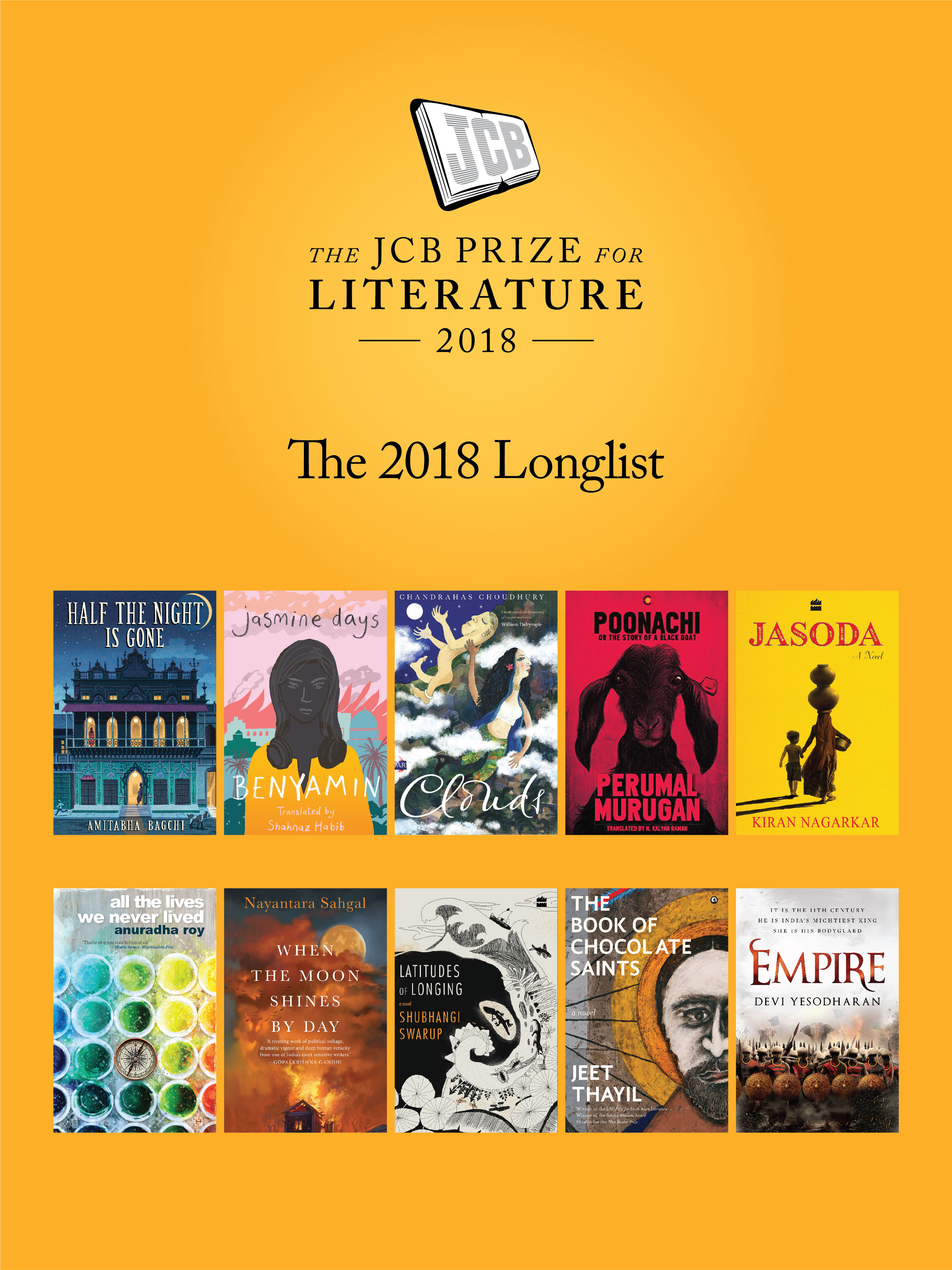 The 2018 Jcb Prize For Literature Longlist Displays The Diversity Of