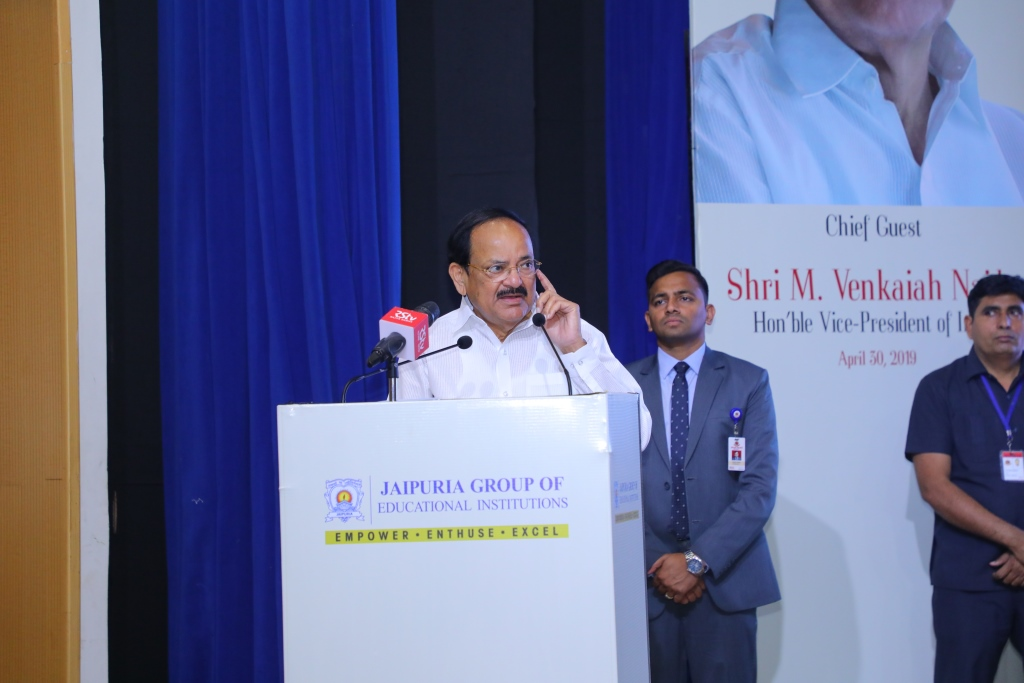 M  Venkaiah Naidu, Vice President of India delivers the
