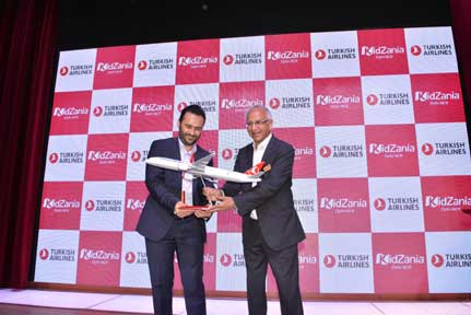 Turkish Airlines and Kidzania join hands to launch aviation