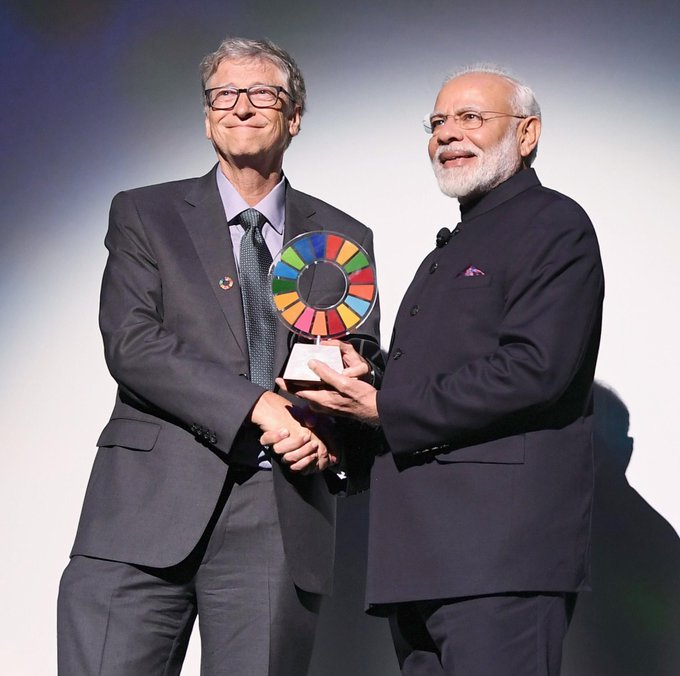 Modi interacts with over 40 global CEOs