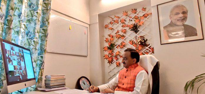 HRD Minister Ramesh Pokhriyal 'Nishank' highlights India's efforts ...