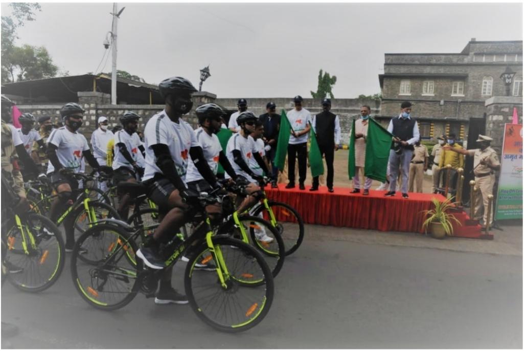 CISF Azadi Ka Amrit Mahotsav Cycle Rally starts from Yerawda Jail, Pune – India Education   Latest Education News   Global Educational News   Recent Educational News